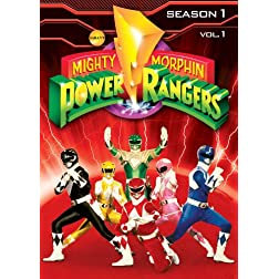 Mighty Morphin Power Rangers: Season 1, Vol.1