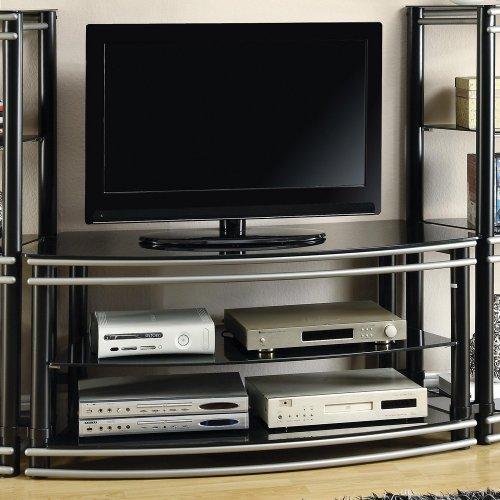 Coaster Home Furnishings 700722 Contemporary TV Console, Black