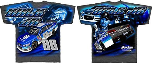 dale-earnhardt-jr-nationwide-checkered-flag-total-print-gray-t-shirt-adult-2xl-by-checkered-flag