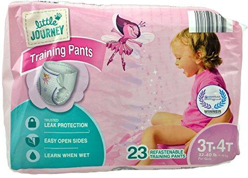 little-journey-training-pants-for-girls-3t-4t-32-40-lb-bag-of-23-refastenable-training-pants