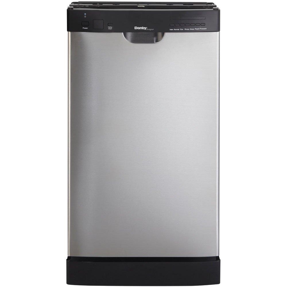 Danby DDW1899BLS 18-Inch Built-In Dishwasher