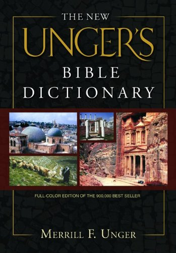 The New Unger'S Bible Dictionary front-99773