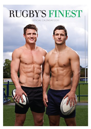 Official Rugby's Finest Hunks 2011 Calendar