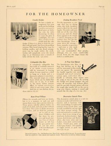 1928-article-home-decor-folding-breakfast-nook-pillows-original-print-article