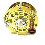 チヌ 釣り フライ リール 防波堤 落とし込み BF600 (ゴールド)