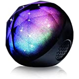 Bluetooth Speaker Mixca Magic Color Ball Wireless Bluetooth Speaker Portable Control With LED Lights Black Black