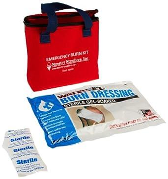 Pac-Kit 3030 9 Piece Water-Jel Emergency Burn Kit in Fabric Pouch