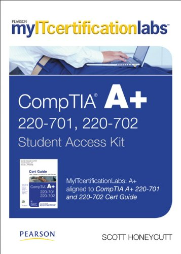 myITcertificationlabs: A+ Lab with Pearson eText -- Standalone Access Card -- for CompTIA A+ 220-701 and 220-702 Cert Gu