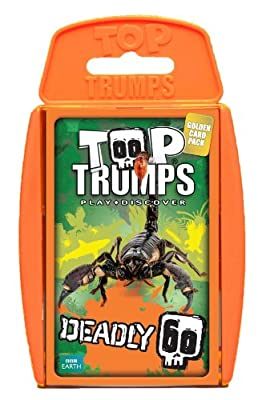 Top Trumps Deadly 60 Card Game