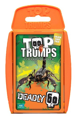 Top Trumps Deadly 60 Card Game by Winning Moves (Top Trumps Sharks compare prices)