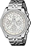 BREITLING BENTLEY 6.75 A4436412/G679 GENTS STAINLESS STEEL CASE AUTOMATIC WATCH