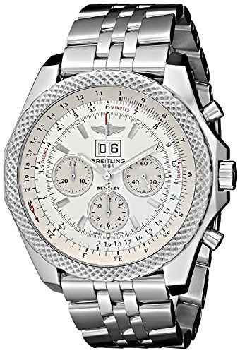 Breitling-Mens-BTA4436412-G679SS-Bentley-Analog-Display-Swiss-Automatic-Silver-Watch