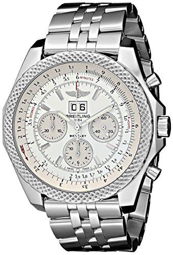Breitling-Mens-BTA4436412-G679SS-Bentley-Analog-Display-Swiss-Automatic-Silver-Watch