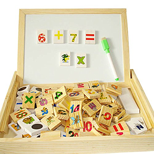 discoballr-wooden-easel-double-sided-magnetic-boards-with-magnetic-shapes-alphabet-and-numbers-with-