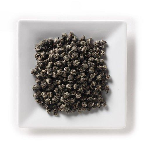 Mahamosa China Green Tea Loose Leaf (Looseleaf)- Pearls 2 Oz, Loose Leaf Chinese Green Tea