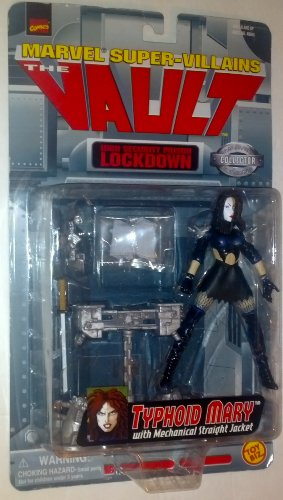 Marvel Super-Villains The Vault Typhoid Mary Action Figure (Error Packing No Jail Cell)