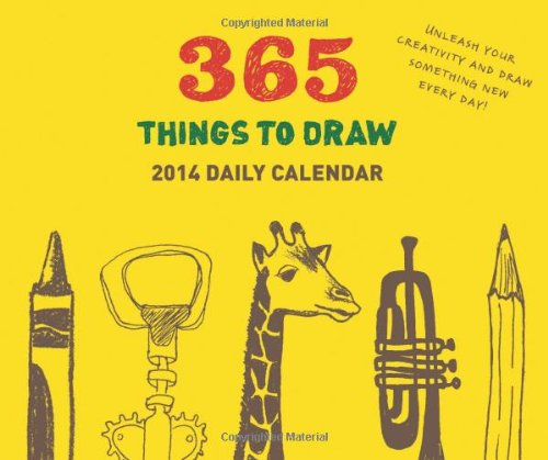 2014 Daily Calendar: 365 Things to Draw