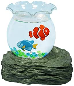 Pet supplies creative motion battery operated pet fish for Fish bowl amazon