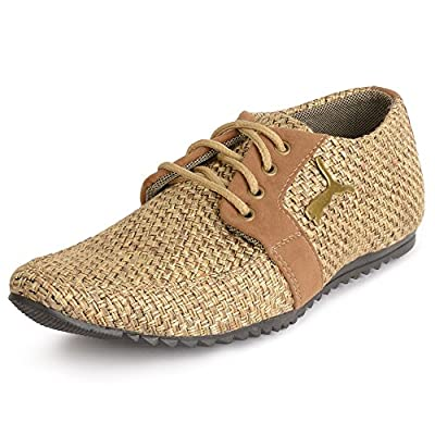 Semana Men's Jute Casual Shoes