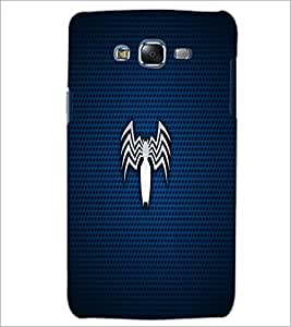 PrintDhaba Spider D-1656 Back Case Cover for SAMSUNG GALAXY J5 (Multi-Coloured)