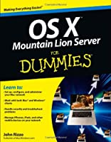 OS X Mountain Lion Server For Dummies Front Cover