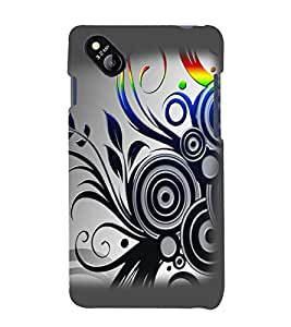 printtech Abstract Pattern Design Back Case Cover for Micromax Bolt D303