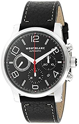 [Mont Blanc] MONTBLANC watch TIMEWALKER black dial automatic winding 107572 Men's parallel import goods]