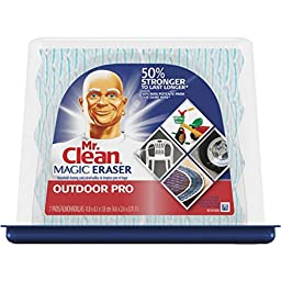 Procter &; Gamble 83906 Mr. Clean Magic Eraser Outdoor Pro Cleansing Pad - 2 pack