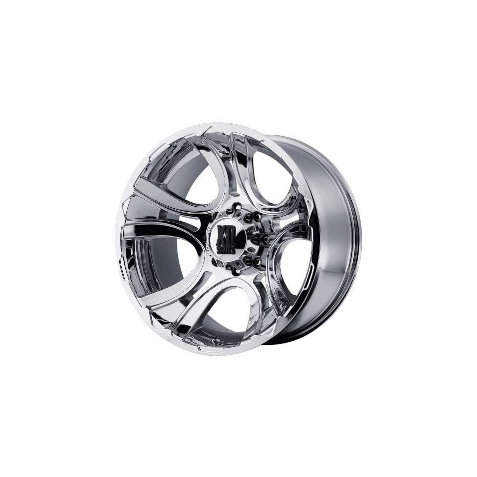 XD XD801 22x11 Chrome Wheel / Rim 8x180 with a  44mm Offset and a 124.20 Hub Bore. Partnumber XD80122188244N Automotive
