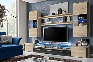 Amazon.com - FRESH Modern Wall Unit / Entertainment Centre