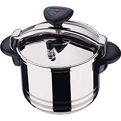 Magefesa Star R 6L / 6.3 Quarts Stainless Steel Pressure Cooker from Magefesa