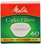 Melitta Java Jig, Single Serve Paper Coffee Filters, 60-Count (4 pack) made by Melitta