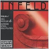 Infeld Red インフェルド レッド ヴァイオリン弦 E線 4/4 クロムスチール/金メッキ IR01