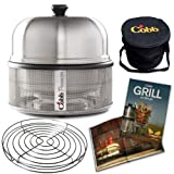 Cobb CB040 Premier Grill with Roasting Rack, Recipe Book and Carry Bag