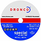 AS 46 T Special Mini Cutting Discs (50x1x6mm) (Pack of 25)