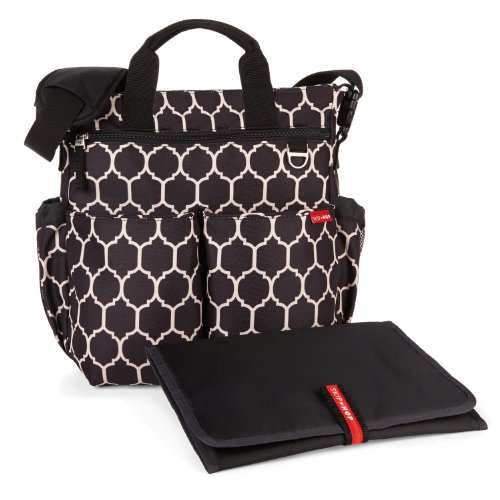 Skip Hop Duo Signature Diaper Bag, Onyx Tile