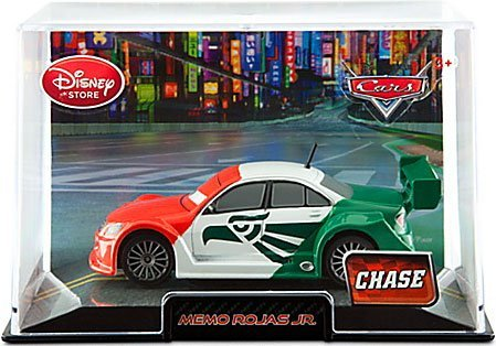 Disney / Pixar CARS 2 Movie Exclusive 148 Die Cast Car In Plastic Case Memo Rojas Jr. Chase Edition! - 1