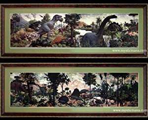 The age of reptiles mural by zallinger peabody for Age of reptiles mural