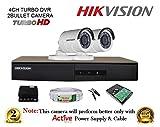 Hikvision DS-7204HGHI-F1 4CH Dvr, 2(DS-2CE16C..