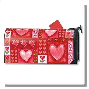 MailWraps Be Mine Valentine's Mailbox Cover
