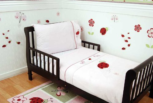 Lady Bug - Toddler Bed 4 Piece Set