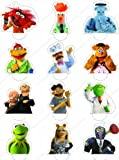 Cakeshop 12 x PRE-CUT Disney The Muppets Stand Up Edible Cake Toppers - Premium Wafer Paper