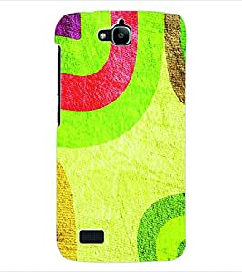 ColourCraft Colour Pattern Back Case Cover for HUAWEI HONOR HOLLY