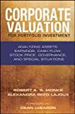 img - for Corporate Valuation for Portfolio Investment: Analyzing Assets, Earnings, Cash Flow, Stock Price, Governance, and Special Situations (Bloomberg Financial) book / textbook / text book