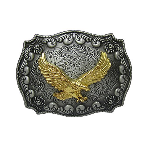 Huabola Western Cowboy belt buckle eagle (Western Belt Boys compare prices)