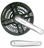Shimano Tourney FCM171 MTB Bike Chainguard Crankset 48/38/28 170mm SILVER