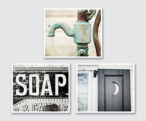 Bathroom Decor Print Set