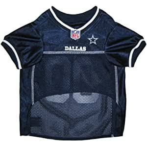 Pets First NFL Dallas Cowboys Jersey, X-Small
