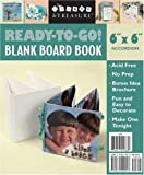 C & T Publishing Create and Treasure Blank Board Book: 6x6 Accordion (Create & Treasure)