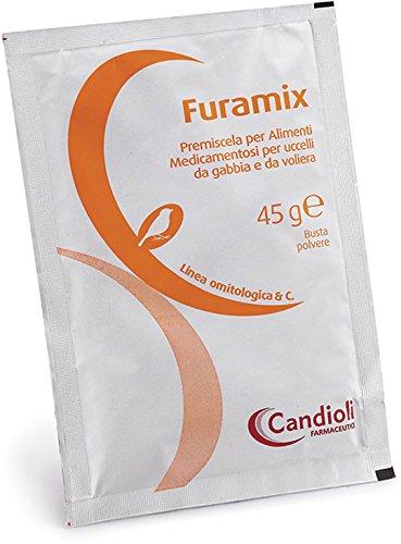 Candioli - Furamix Antibatterico Per Volatili Gr.45